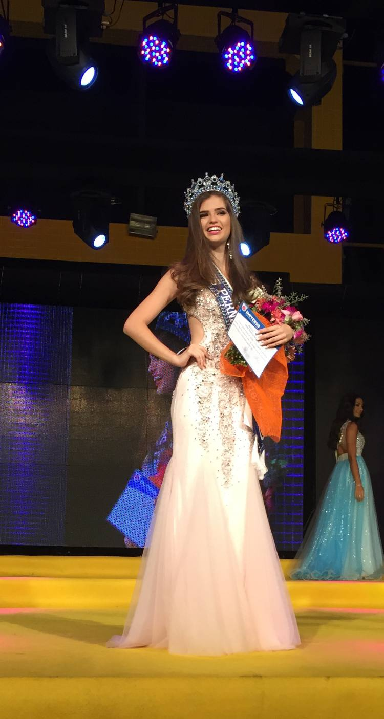 Talita Martins, a Miss Pernambuco 2016