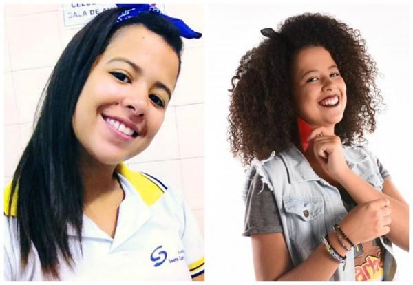 """O """"Antes e Depois"""" de Ana Carolina - Crédito: Acervo pessoal/Cortesia"""