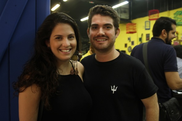 Gabriele Sá e João Carlos Neves. Crédito: Roberto Ramos / DP