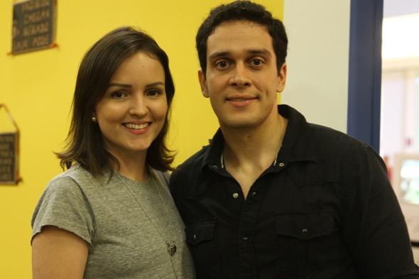 Mari e Diogo Lindoso. Crédito: Roberto Ramos / DP