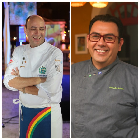 Cesar Santos e Auricélio Romão - Créditos: Nando Chiappetta/DP/D.A Press e Rodrigo Valenca/Divulgação