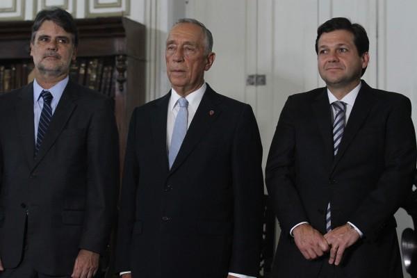 Raul Henry, Marcelo Rebelo de Sousa e Geraldo Julio -  Crédito: Roberto Ramos/DP
