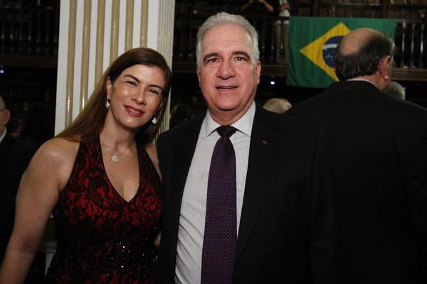 Clotilde e Antonio Mario Abreu Pinto - Crédito: Roberto Ramos/DP