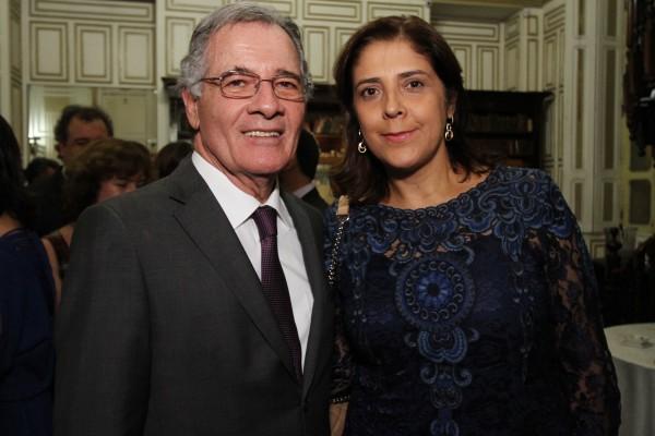Leopoldo Raposo e Ismênia - Crédito: Roberto Ramos/DP