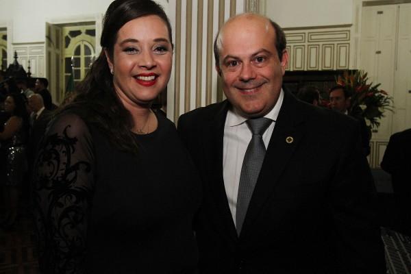 Alessandra Brabosa e Alexandre Miranda - Crédito: Roberto Ramos/DP