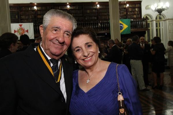 Alberto Ferreira da Costa e Carmem Costa - Crédito: Roberto Ramos/DP