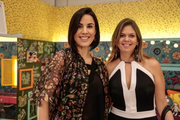 Maria Meira Lins e Isis Lopes. Crédito: Divulgação