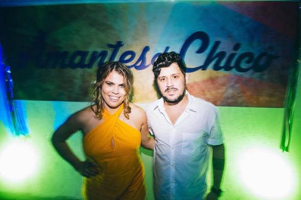 Naiara Cândido e Daniel Cursino. Crédito: Lana Pinho / Divulgação