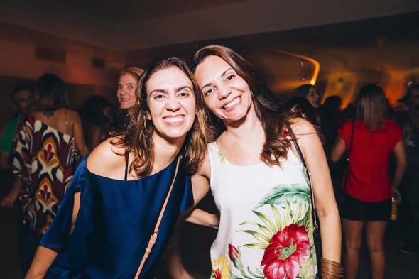 Eduarda Tolentino e Dani Lustosa. Crédito: Lana Pinho / Divulgação