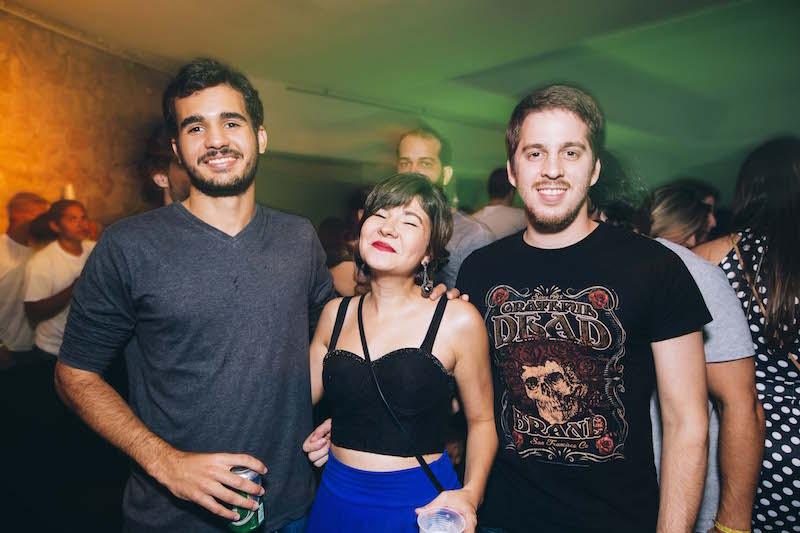 Gregório Perman, Natália Cordeiro e José Canuto. Crédito: Lana Pinho / Divulgação