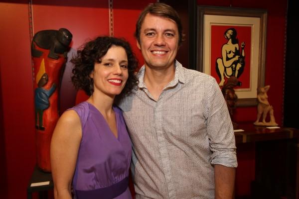 Joana Lira e seu irmão Pedro Lira - Crédito: Roberto Ramos/DP