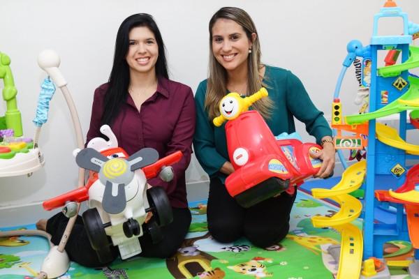 Amanda Freire e Vidiane Pinheiro - Crédito: Divulgação