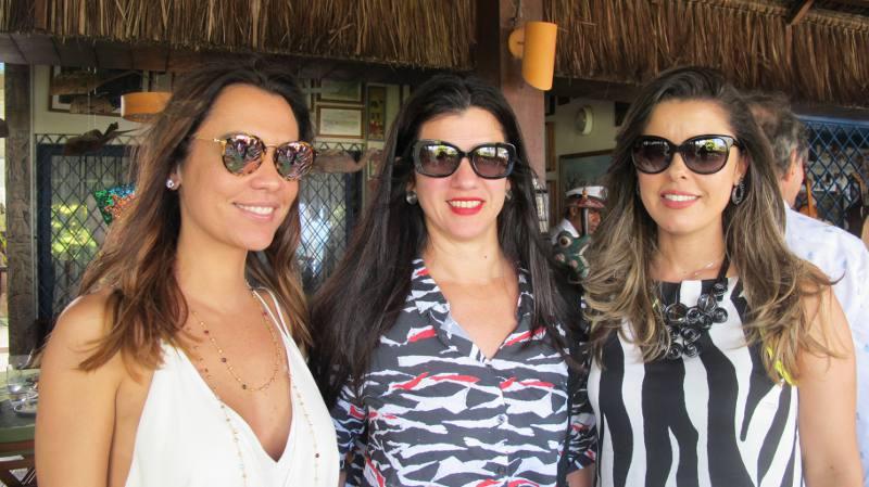 Juliana Macedo, Luiza Nogueira e Ricelle Abreu