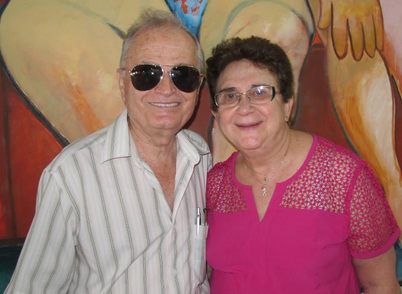 Fernando Machado e Lourdinha Vasconcelos