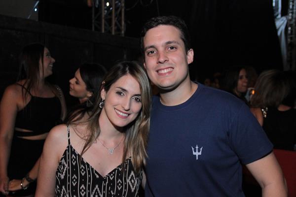 Patrícia Maçães e Rodrigo Rego - Crédito: Luiz Fabiano/Divulgação