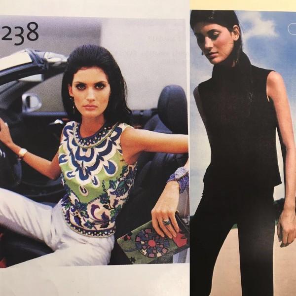 Isabella postou fotos de quando era modelo - Crédito: Reprodução/Twitter