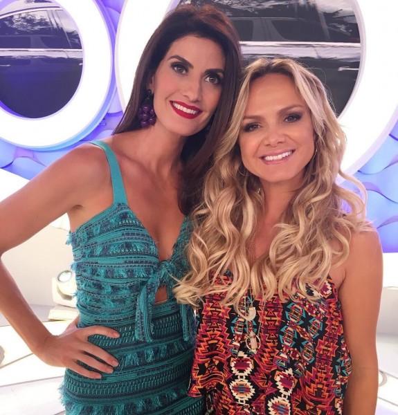 Isabella Fiorentino e Eliana - Crédito: Reprodução/Twitter