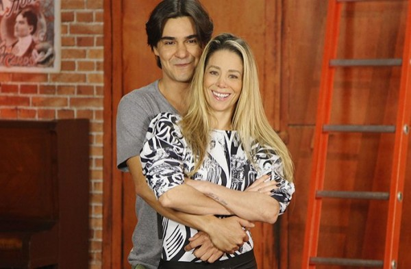 André Gonçalves e Danielle Winits - Crédito: Reprodução/Twitter