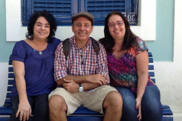 Marisa Moreira, Nando Chiappetta e Adriana Alliz. crédito: Divulgação