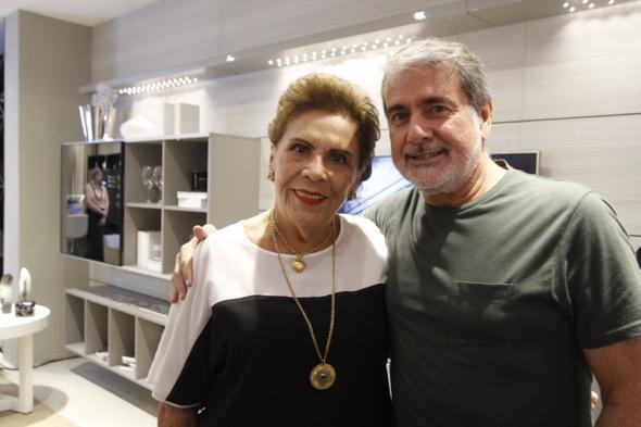 Augusto Reinaldo e Gerlada Farias. Crédito: Ricardo Fernandes / DP
