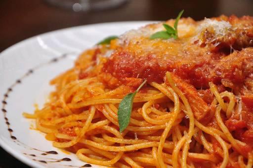Espaguete com molho Matriciana~/DP