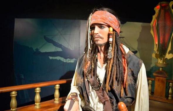 Jack Sparrow lidera a lista dos mais procurados - Crédito: Dreamland / Divulgação