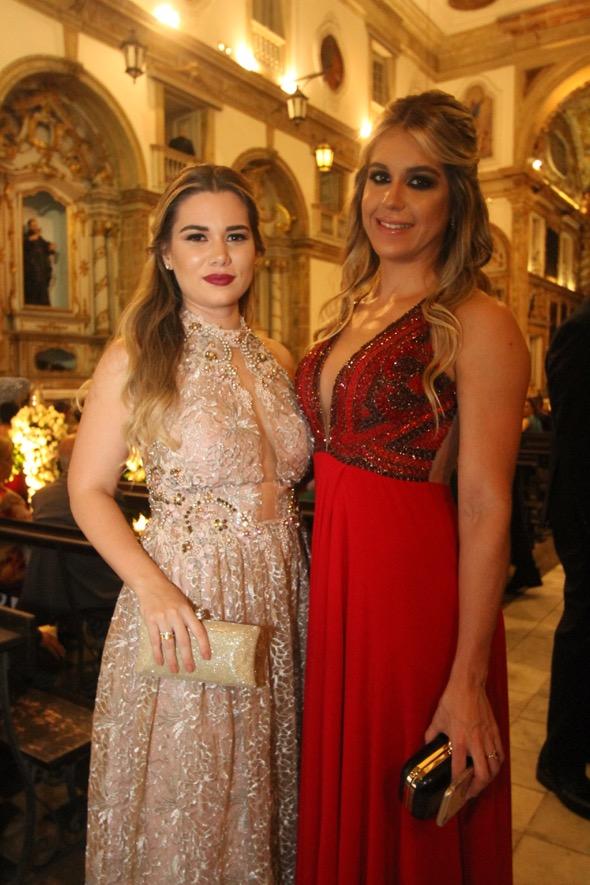 Marcela Tavares e Natasha Seraka