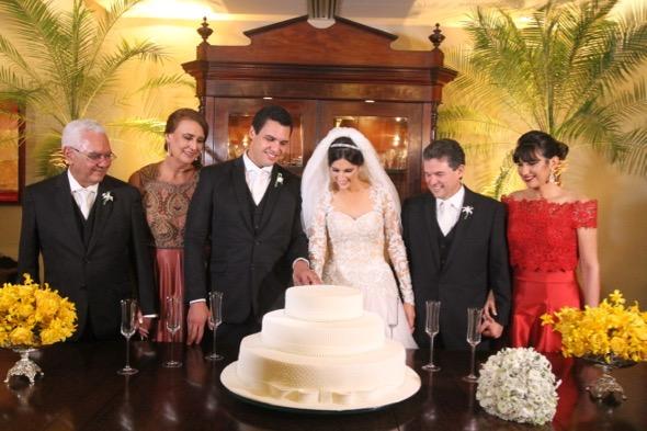 Casamento de Andrea de Paula e Marcus Travassos