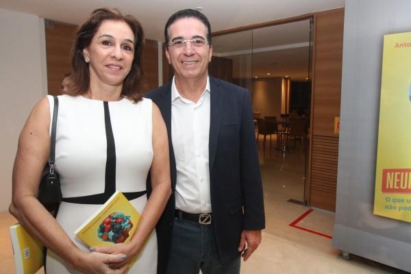Patricia Gomes e Ivo Gomes - Crédito: Nando Chiappetta/DP