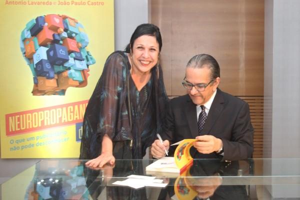 Lucy Alcântara e Antônio Lavareda - Crédito: Nando Chiappetta/DP