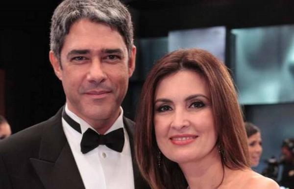 William Bond e Fátima Bernardes