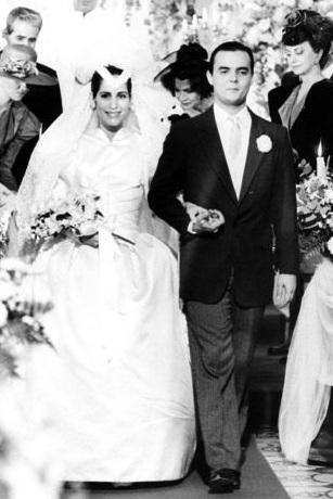 Glória Pires com seu vestido bufante na novela Vale Tudo. Crédito: Reprodução internet