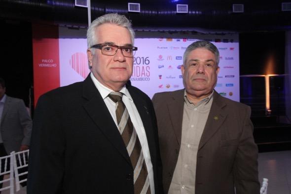 Alexandre Ferrer e Ricardo Passos. Crédito: Nando Chiappetta / DP