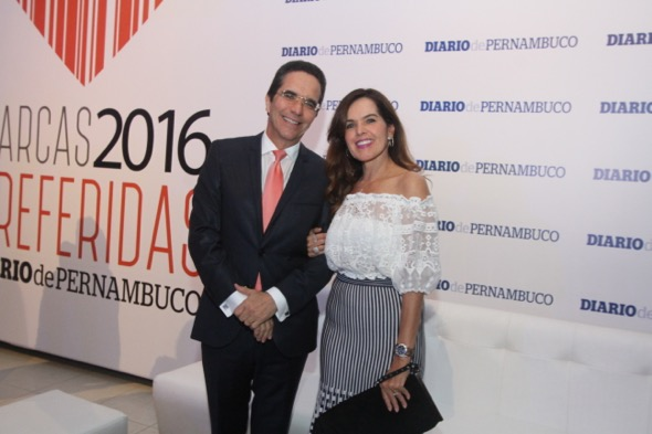 Maurício e Patrícia Rands. Crédito: Nando Chiappetta / DP