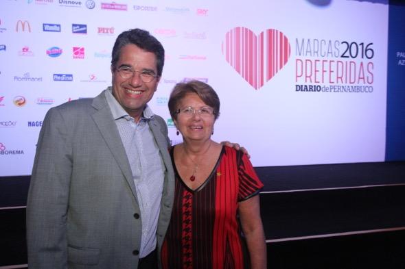 Alexandre Rands e Maria de Lourdes. Crédito: Nando Chiappetta / DP