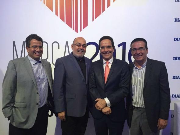 Alexandre Rands, Agostinho Gomes, Maurício Rands e Ivo Gomes. Crédito: Nando Chiappetta