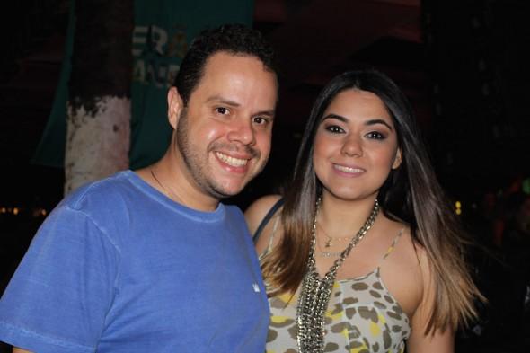 Rodrigo Calazans e Beatriz Campos. Crédito: Bia Chaves