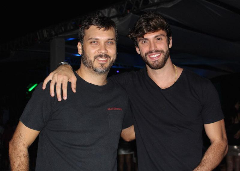 Produtores Romero Bivar e Eric Numeriano. Crédito: Bia Chaves