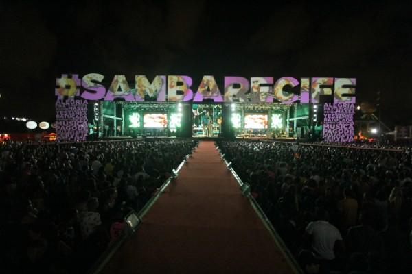 Samba Recife - Crédito: Luiz Fabiano/Divulgação