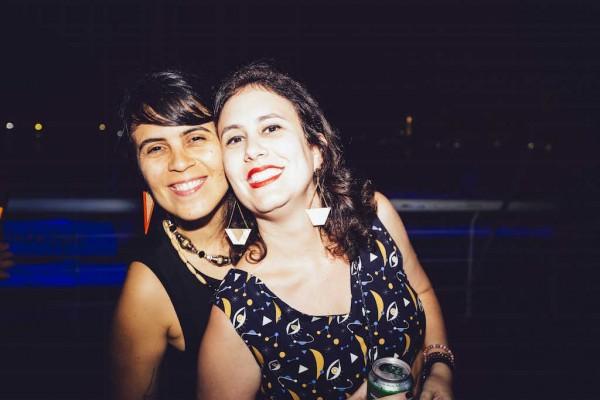 Juliana Martoreli e Luciana Veras - Crédito: Lana Pinho/Divulgação