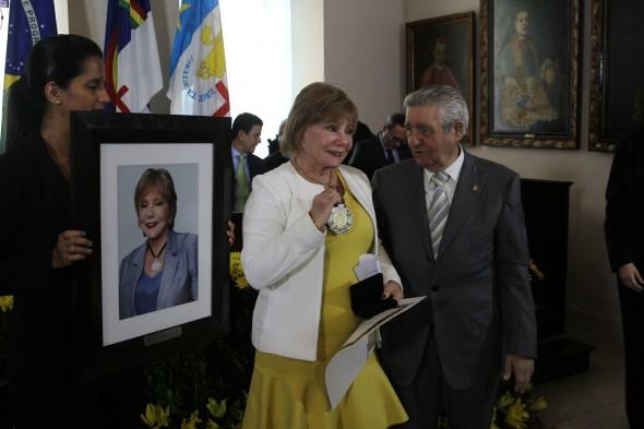 Dra. Gilma Campos e Alberto Ferreira Costa. Credito: Julio Jacobina/DP
