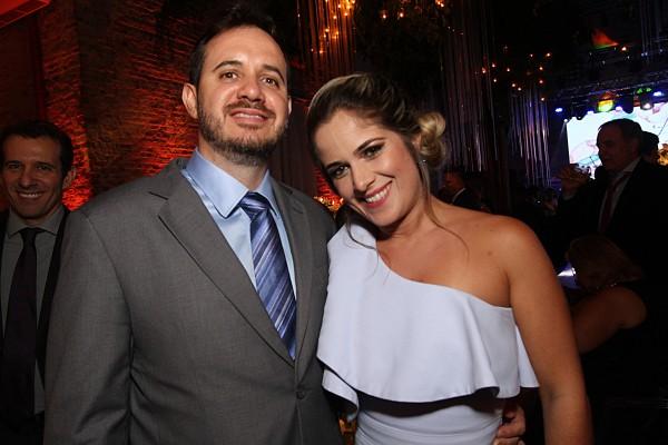 Luciano e Luciana Fontes - Crédito: Roberto Ramos/DP