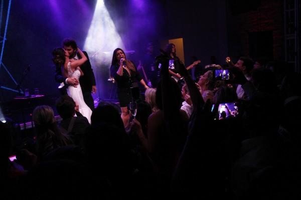 Preta Gil foi atração da noite - Crédito: Roberto Ramos/DP