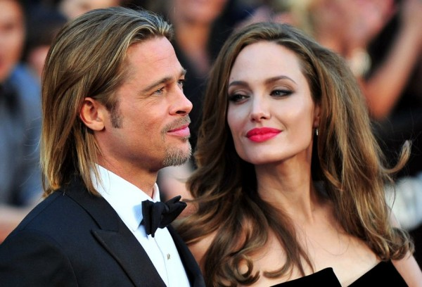 Angelina Jolie e Brad Pitt - Crédito: Reprodução/Twitter