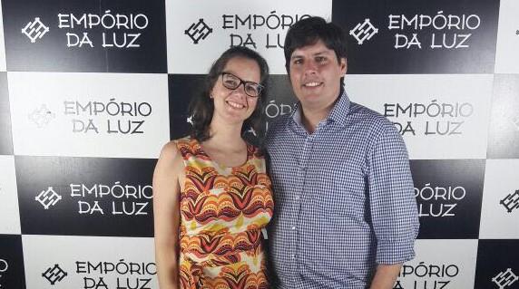 Gabriela Fázio e Eduardo de Melo Fázio - Crédito: Divulgação