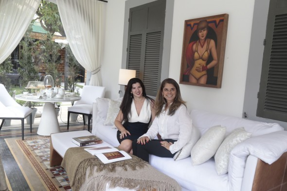 Luiza Nogueira e Simone Lima. Crédito: EXECUTIVA COMUNICAÇÃO