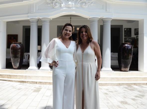 Isabela Coutinho e Carla Cavalcanti. Credito: Marcela Cintra/Esp.DP - Blog de Joao Alberto -