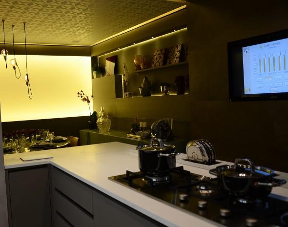 Cozinha principal. Credito: Marcela Cintra/Esp.DP - Blog de Joao Alberto