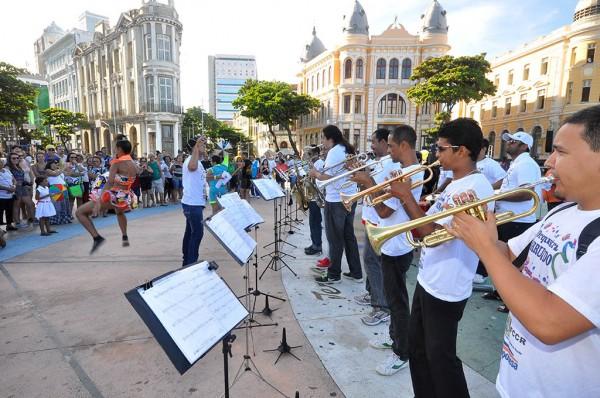 Orquestra Arruando - Crédito: Tiago J Silva/Divulgação