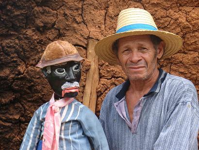 Mestre Saúba é um dos homenageados do evento nesta quinta-feira - Crédito: Divulgação/museudobrinquedopopular.com.br
